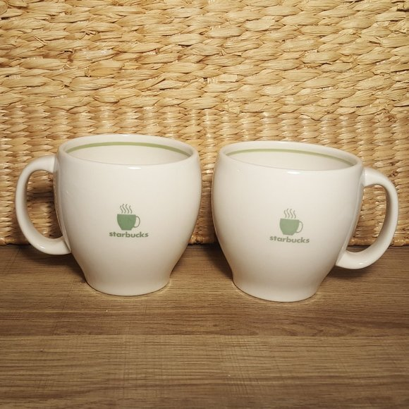 Set of 2 Starbucks Barista Mugs